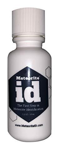 Meteorite ID - Meteorite Testing Solution - The First Step in Meteorite Identification (Drop A Jean Size In A Week)