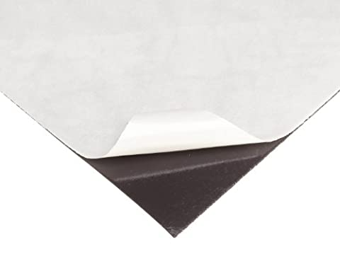 Flexible Magnet Sheet With Adhesive, 0.030