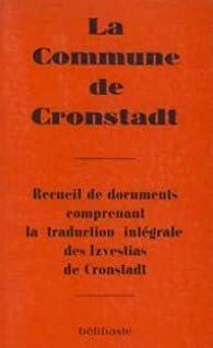 La Commune de Cronstadt par Editions Bélibaste