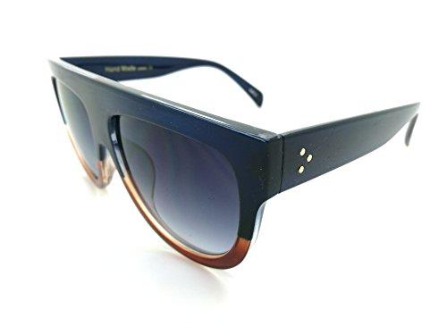 Aoligei Hommes et femmes personnalité de lunettes de soleil fashion du nez sans armature ronde frame lunettes de soleil lunettes de soleil style rétro GRYZIHfstU