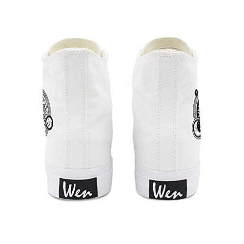 Spring White Shoes Fall Flat Light Women's Round Soles Toe Canvas B 38 Draping Heel Sneakers Black THwdqxOq