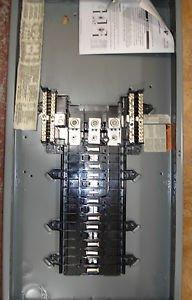Square D QO330L200 Main Lug Electric Panel 200 amp 3PH w/Cover, Miss Labeled Box