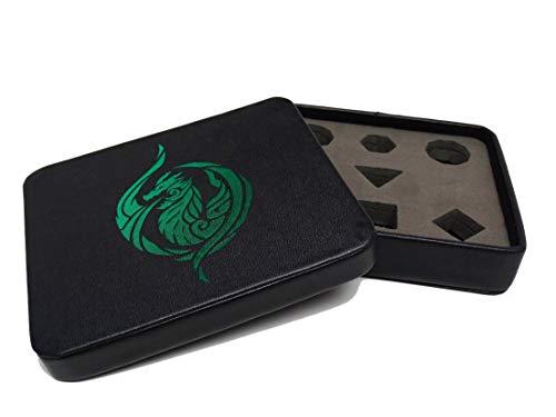 Dice Display (Dice Display and Storage Case - Green Dragon's Breath Design)