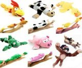 Slingshot Flying Monkey (6pc Set of Slingshot Flingshot Flying Animals with Sound Monkey Pig Chicken Cow Duck Frog)