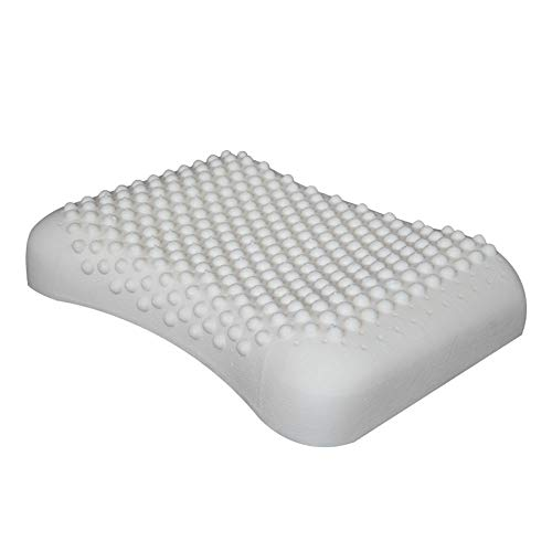 (Natural Latex Pillow for Neck Massage to Relieve Stress Single Memory Pillow)