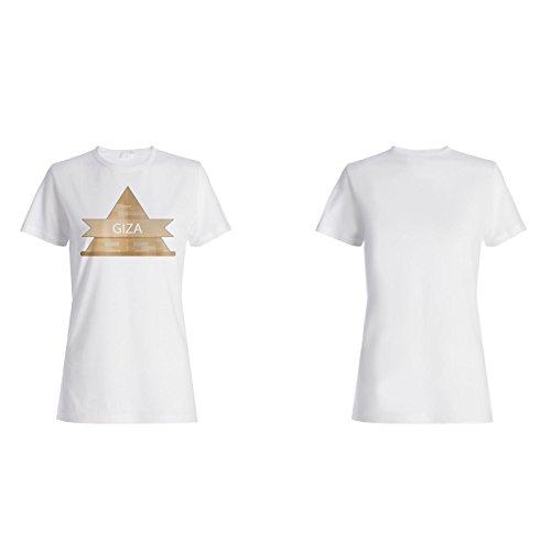 Neue Weltdenkmäler Giza Damen T-shirt m470f