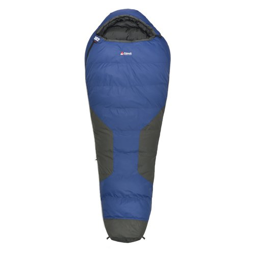 Chinook Polar Ice Mummy Down -22-Degree Sleeping Bag, Blue