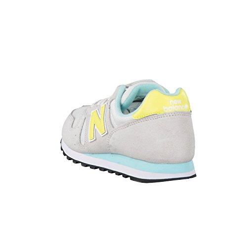 Gris Zapatillas yellow Lifestyle Mujer Wl373 Deporte Para De New Balance C8q7twO