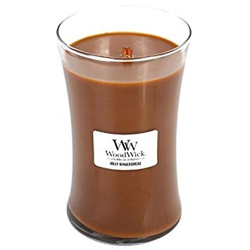 Woodwick Candle 22 Oz. - Jolly Gingerbread