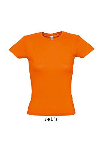 SOL´S Ladies T-Shirt Miss, Größe:XL, Farbe:Orange