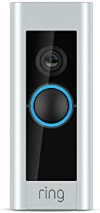 Ring Video Doorbell Pro – Upgraded, with added security features and a sleek design (existing doorbell wiring