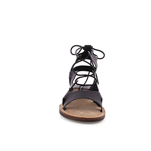 Negro MTNG Black Brush Black WoMen 53674 Sandals Brush Eqq6wa