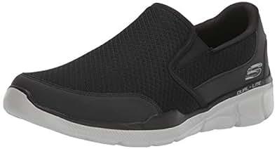 Skechers Mens 52984 EWW BKGY Equalizer 3.0 Bluegate Black Size: 9