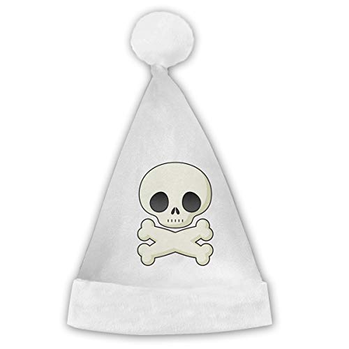 Halloween Skeleton Clipart Cute Xmas Cap Hat Santa Claus Party for Vacation Pack Top Beanie Set Novelty Fancy Creative