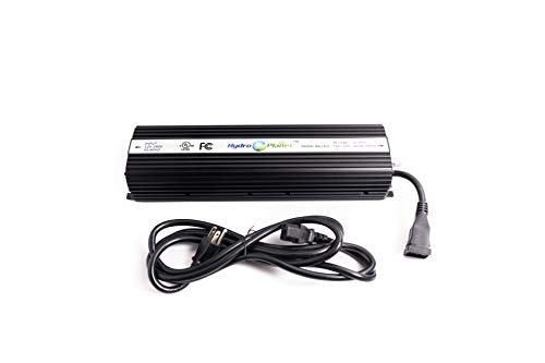 Hydroplanet&Trade; Hydroponic 1000 Watt HPS Mh Digital Dimmable 1000w Electronic...
