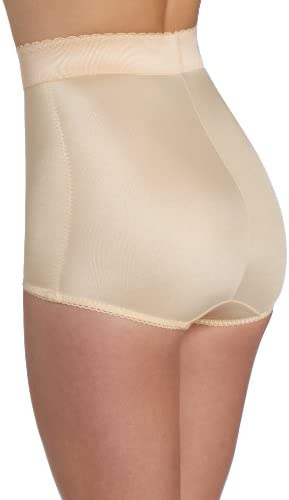 Rago Women's Plus-Size Hi Waist Panty Brief
