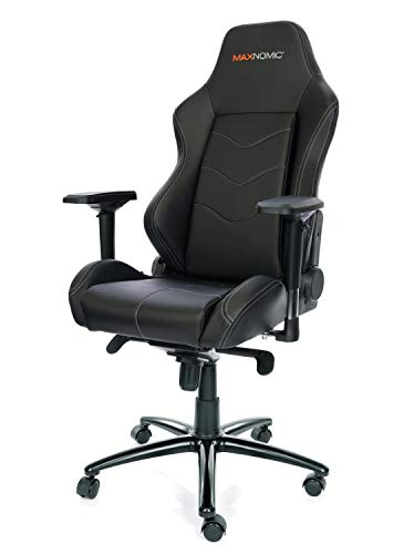 Best Office Chairs For Back Support >> MAXNOMIC Dominator (Black) Premium Gaming Office & Esports ...