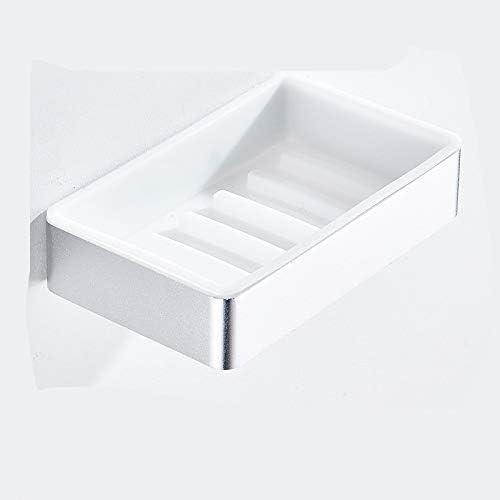 cfxdxayd Caja de jabón Soporte de perforación Caja de jabón de perforación Ventosa Pared Ventosa Hogar Montado en la Pared Baño Creativo: Amazon.es: Hogar
