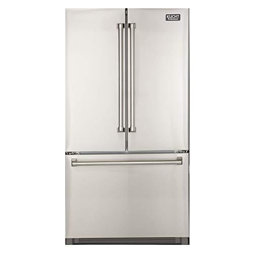 Kucht K748FDS Door Refrigerator, Stainless Steel
