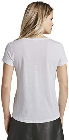 Tom Tailor Denim damska koszulka z logo Basic: Odzież