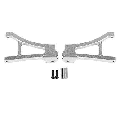 Dilwe RC Car Front Lower Suspension Arm, 2pcs Aluminium Alloy Front Lower Suspension Arms for Traxxas Slash 1/16 Scale RC Car Upgrade Parts -