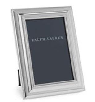Ralph Lauren Silver Fluted Picture Frame - 4 x 6 (Picture Ralph Lauren Frames)