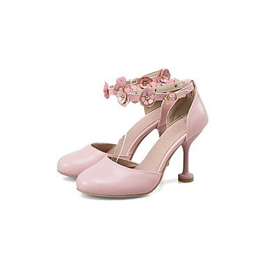 Zormey Les Talons Des Femmes Printemps ¨¦t¨¦ Automne Chaussures Confort Club Gladiator Nouveaut¨¦ Semelles Lumi¨¨re Bureau Leatherwedding &Amp Partie De Carri¨¨re &Amp Tenue De Soir¨¦e Rouge Rose Us8