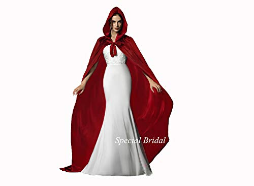 Special Bridal Medieval Cape Cloak with Hood Medieval Cloak Hooded Cloak Hooded Cape
