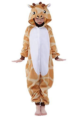 BELIFECOS Kids Costume Plush Cartoon Onesies Pajamas Children Christmas (Robe Monster Inc)