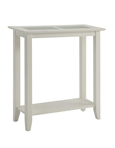 Convenience Concepts Carmel Hall Table, White