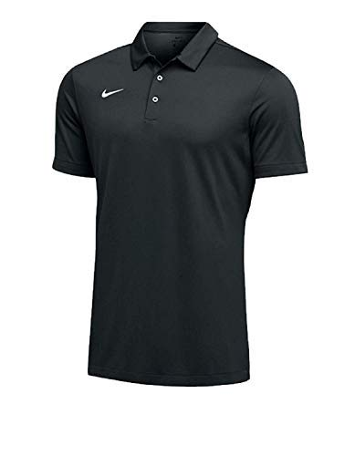 (Nike Mens Dri-FIT Short Sleeve Polo Shirt (Anthracite, XX-Large))