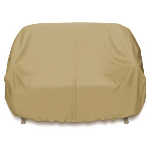 Smart Living Home and Garden 2D-PF88365 3-Seat Sofa Cover with Level 4 UV Protection, Khaki by Two Dogs Designs