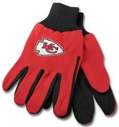Kansas City Chiefs Two Tone Gloves - Adult - Stores Kansas City Outlet