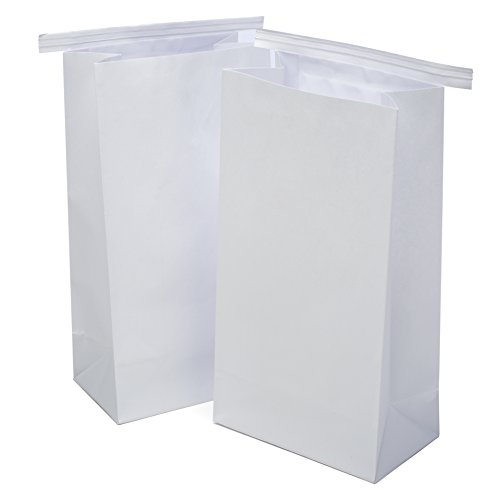 Classic White Vomit/Barf Bags   Travel Motion & Morning Sickness Bags (25/Pk)