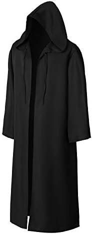 Wizard Tunic Hooded Robe Halloween Cloak Cosplay Costumes