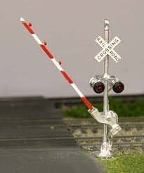 Osborn Models HO CROSSING GATE (Only) Kit Add-on For RRA1004 EZ Assembly New RRA1114