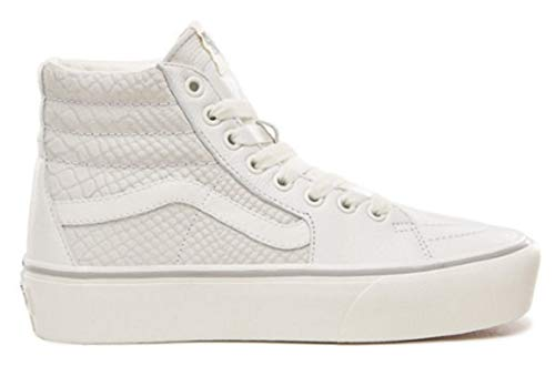 2 Women's Womens Fashion-Sneakers VN-A3TKNUPK_5.5M - Leather Snake/White ()