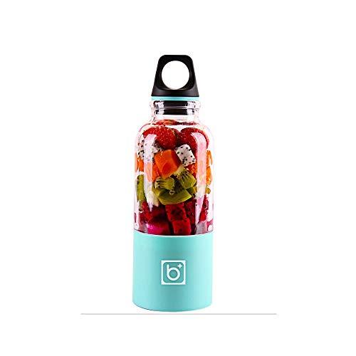 Gano Zen 500ml Electric Juicer Cup -Mini Portable USB Rechargeable Juicer Blender - Maker Shaker Squeezers Fruit Orange Juice Extractor by Gano Zen (Image #4)