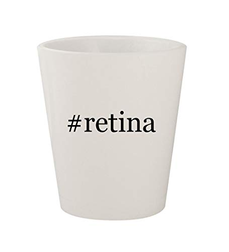 Price comparison product image #retina - Ceramic White Hashtag 1.5oz Shot Glass