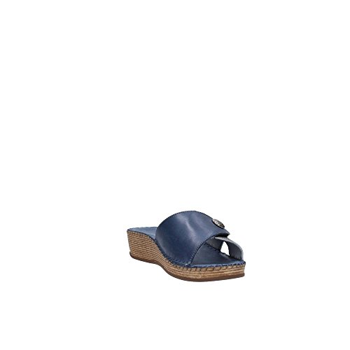 GRUNLAND - Zuecos para mujer Azul azul Azul