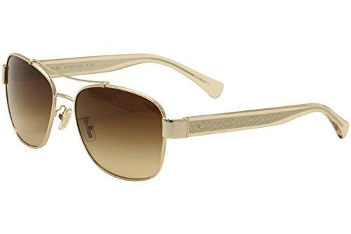 Coach Womens Full Pilot Sunglasses
