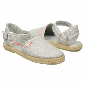 Cienta Girls Shoes Espadrille Flat Open Back Sandals – Si...