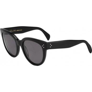 celine-41755-s-sunglasses-0807-black-3h-smoke-polarized-lens-55mm-luggage