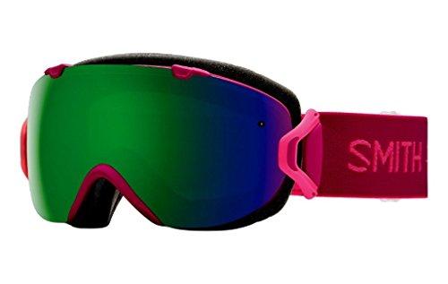 Smith Optics I/OS Adult Snowmobile Goggles Eyewear Fuchsia Static / Chromapop - Smiths Eyewear
