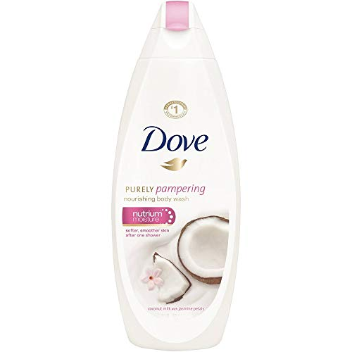 - Dove Purely Pampering Coconut Milk & Jasmine Body Wash - 3 Pack x 25.36 Fl.Oz / 750 mL Ea