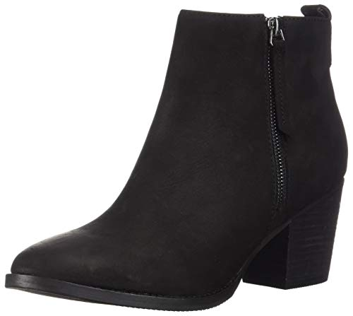 Blondo Women's VEGAS2 Waterproof Ankle Boot, Black Nubuck, 10 M US