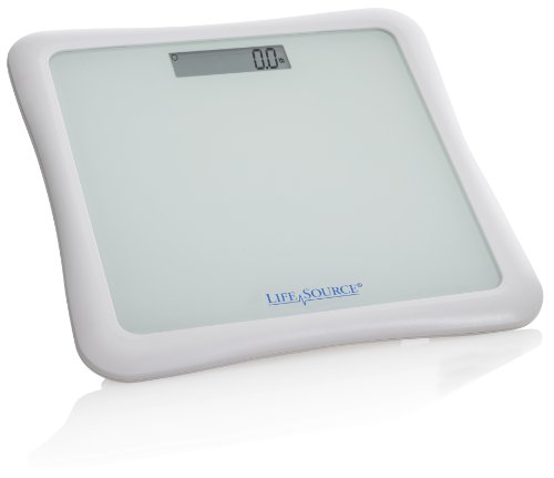 Lifesource Digital Body Weight Bathroom Scale With Lcd Screen Uc 324 Best Physical Therapy