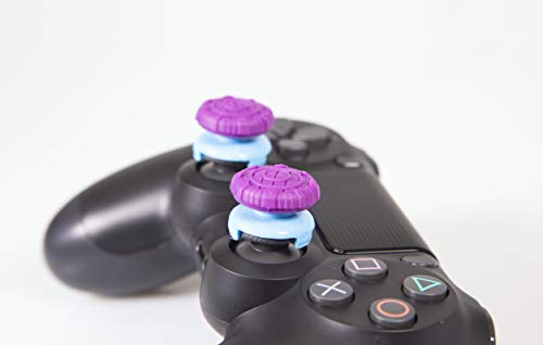 Thumbstick Grips – PS4 Controller Thumb Grips and Xbox One Controller Grip | Dual High-Rise, Easy Snap, Soft and Durable… 6