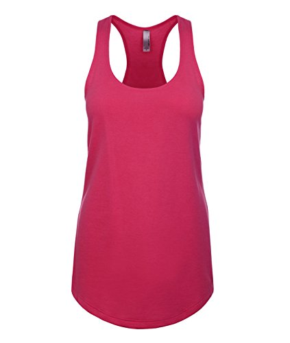 Price comparison product image Next Level Women's Apparel Ideal Quality Tear-Away Tank Top,  Raspberry,  XXL- 16-18