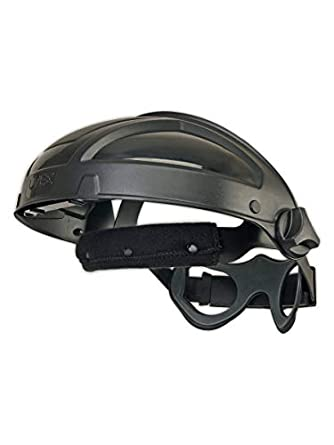 Uvex de Honeywell TurboShield – Visor negro Nylon trinquete cascos Uvex TurboShield – para uso con